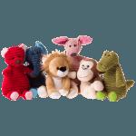 plush corduroy and plush toys